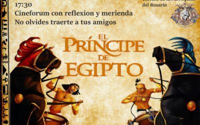 Cine Forum: El Principe de Egipto